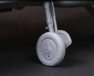 Bilde av 1/32 BF109/Buchon Moderne Hjul