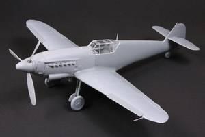 Bilde av Hispano HA-1109 K1L Tripala Resin Conversion Kit