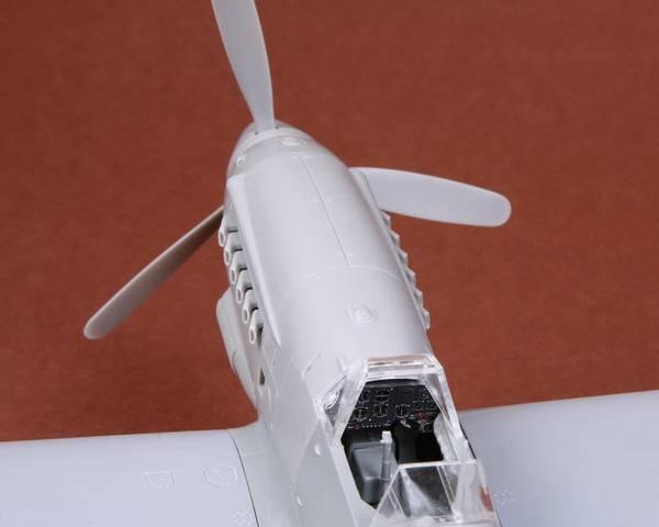 Hispano HA-1109 K1L Tripala Resin Conversion Kit